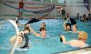 Zajęcia aqua aerobicu